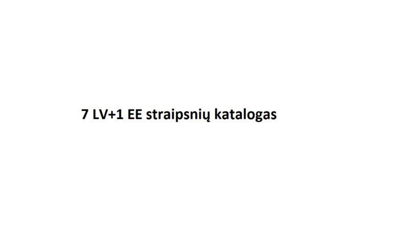 7 LV+1 EE SEO straipsnių katalogas